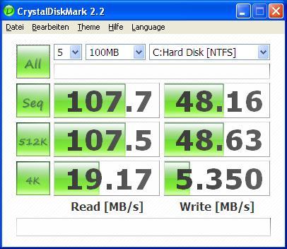 Benchmark Runcore Pro IV SSD